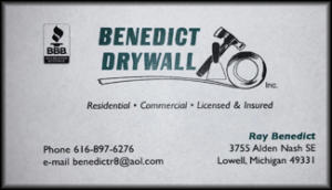 Benedict Drywall